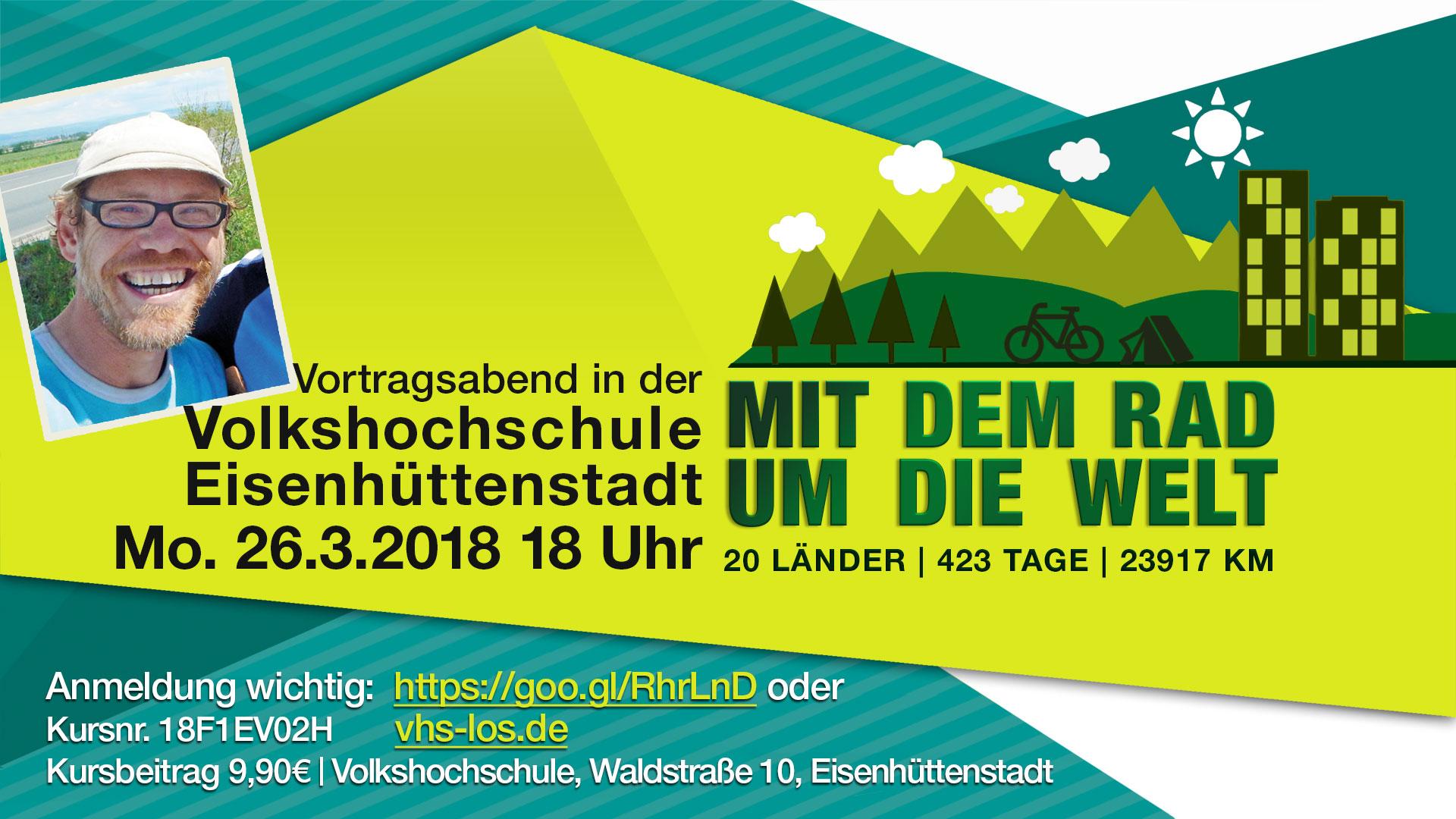 Vortragsabend in der Volkshochschule Eisenhüttenstadt